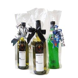 Cello Wine Bags - Clear