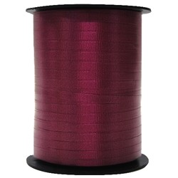 Crimped Curling Ribbon 5mm x 457m - Burgundy