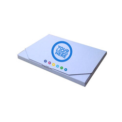 100 x Custom Printed Mailing Box - 220 x 160 x 16mm - Suit A5 Letter