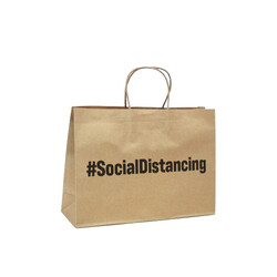 #Socialdistancing- Small Boutique - Brown