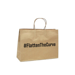 #FlattenTheCurve - Small Boutique - Brown