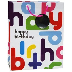 Gift Bags - Happy Birthday Foil Assortment - Medium