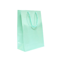 Gift Carry Bags - Glossy Sea Green - Medium/Large