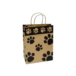 Kraft Bags - Medium - Paws