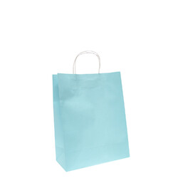 Kraft Bags - Medium - Light Blue