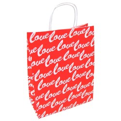 Kraft Bags - Medium - Love