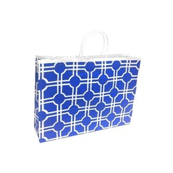 Possible Faulty Handles - Clearance - Kraft Bags - Boutique - Moroccan - Blue
