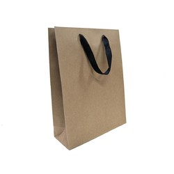 Kraft Bags - Premium Kraft Brown Medium Gift Bag