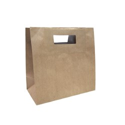Kraft Bags - Medium Square Takeaway - Brown
