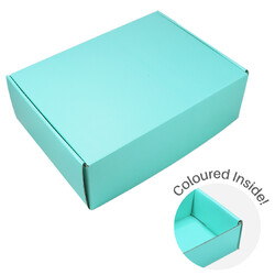 Large Premium Mailing Box | Gift Box - All in One - Sea Green