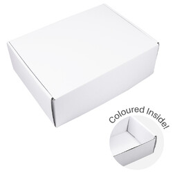 Large Premium Mailing Box | Gift Box - All in One - White