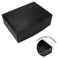 Large Premium Mailing Box | Gift Box - All in One - Matt Black