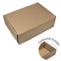 Large Mailing Box | Gift Box - All in One - Kraft Brown