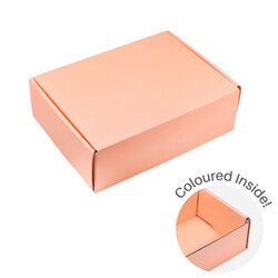 Medium Premium Mailing Box | Gift Box - All in One - Apricot
