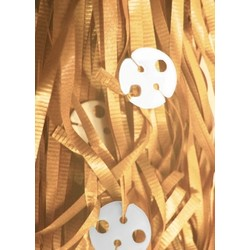 50 x Balloon Pre-Cut Curling Ribbon & Seals - Gold