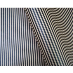 Wrapping Paper - 500mm x 60M - Kraft Brown with Black Stripes