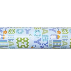 Wrapping Paper - 500mm x 60M - Baby Boy