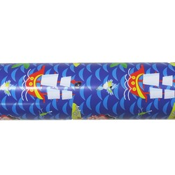 Wrapping Paper - 500mm x 60M - Kids Pirates