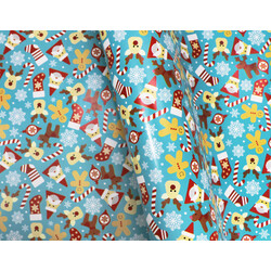 Wrapping Paper - 500mm x 60M - Christmas Wrapping Paper - Kids Christmas
