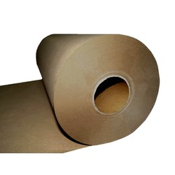 Brown Kraft Paper Roll - 600mm x 300M, 80 GSM