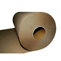 Brown Kraft Paper Roll - 900mm x 340M, 60 GSM