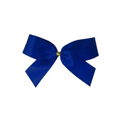 Satin Bow - 7cm - Royal Blue - 100pk