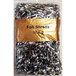 Foil Metallic Shreds - 56.6grams - Metallic Silver