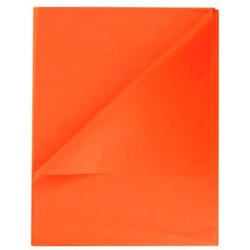 Tissue Paper Ream 750mm x 500mm, 480 Sheets - Orange