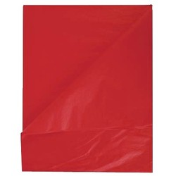 Tissue Paper Ream 750mm x 500mm, 480 Sheets - Red