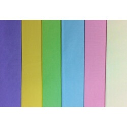 Tissue Paper Ream 750mm x 500mm, 480 Sheets - Pastel Mix Assortment