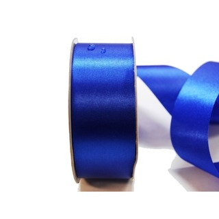 Water Repellent Satin Ribbon - 38mm x 45m - Royal Blue