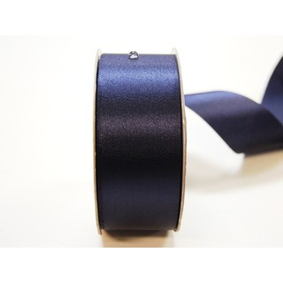 Water Repellent Satin Ribbon - 38mm x 45m - Navy Blue