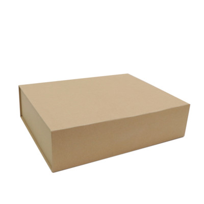 Medium Gift Box - Kraft Brown with Magnetic Closing Lid
