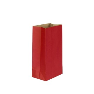 Kraft Bags - Treat Size - Red