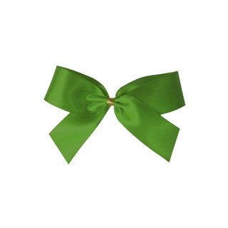 Satin Bow - 7cm - Moss Green - 100pk