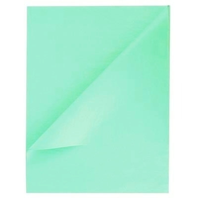 Tissue Paper Ream 750mm x 500mm, 480 Sheets - Sea Green