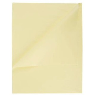 Tissue Paper Ream 750mm x 500mm, 480 Sheets - Vanilla Cream